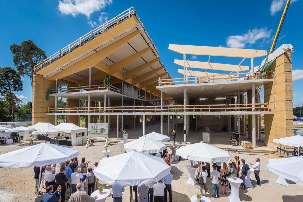 Richtfest Alnatura Campus Haas Cook Zemmrich Studio2050