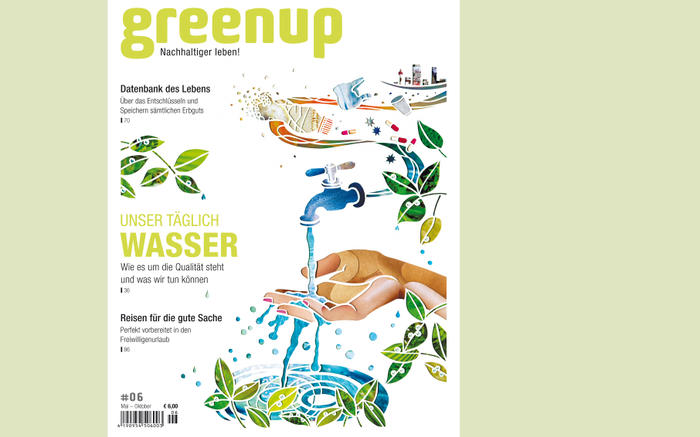 "A new article in the magazine ""greenup"""